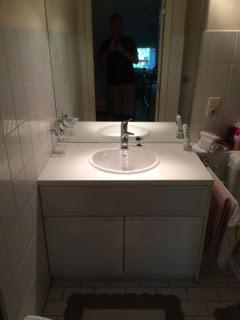 menuiserie générale. Meuble salle de bain par AG Menuiserie